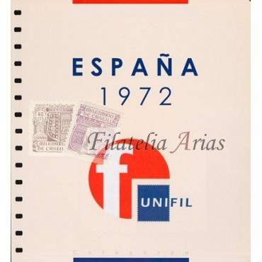 Suplemento año 1950 Unifil con filoestuches (negro/transparente)