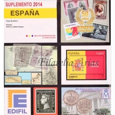 Suplemento Edifil 2014 - Completo (s/MONTAR)
