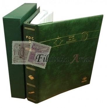 Álbum FDC 2 FILABO + 40 hojas (azul)