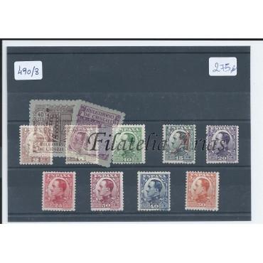 490/98 Serie Básica Alfonso XIII - NUEVO